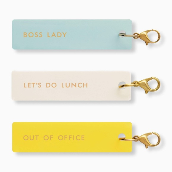 kate spade Other - 🆕 Kate Spade ♠️ Boss Lady Planner Charm Set